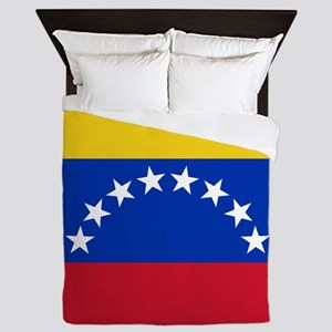Flag Of Venezuela Queen Duvet