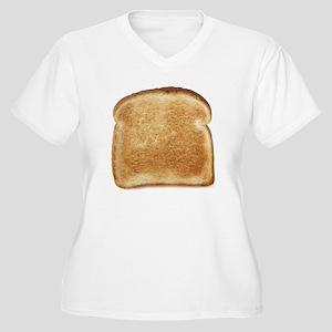 Toast Women's Plus Size V-Neck T-Shirt