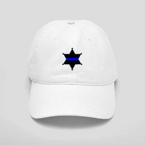 Blue Line Badge 2 Cap
