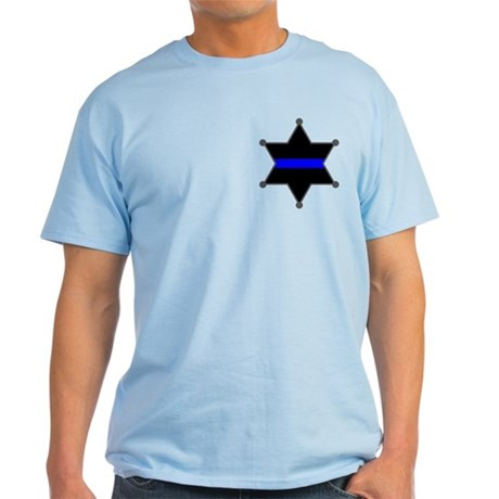 Blue Line Badge 2 Light T-Shirt