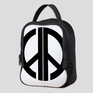 AA Peace Symbol Neoprene Lunch Bag