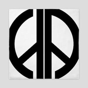 AA Peace Symbol Queen Duvet