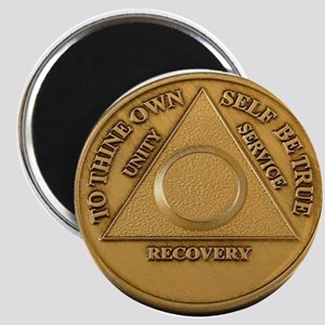 Alcoholics Anonymous Anniversary Chip Magnets