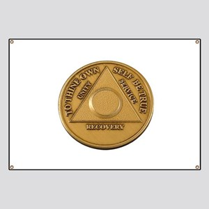 Alcoholics Anonymous Anniversary Chip Banner