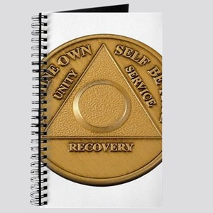 Alcoholics Anonymous Anniversary Chip Journal