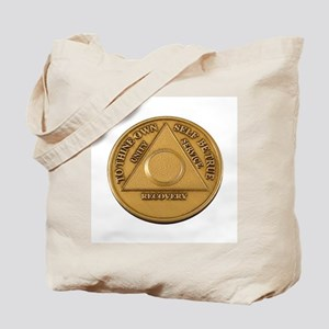 Alcoholics Anonymous Anniversary Chip Tote Bag