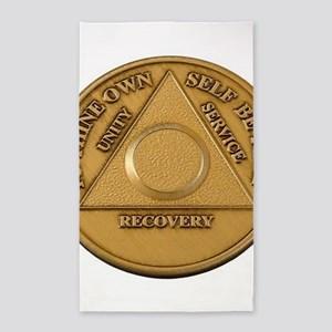 Alcoholics Anonymous Anniversary Chip 3'x5' Area R