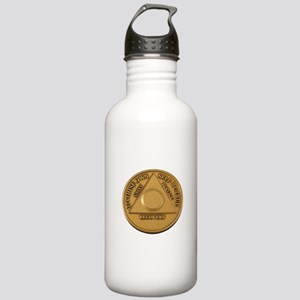 Alcoholics Anonymous Anniversary Chip Water Bottle