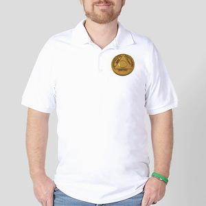 Alcoholics Anonymous Anniversary Chip Golf Shirt