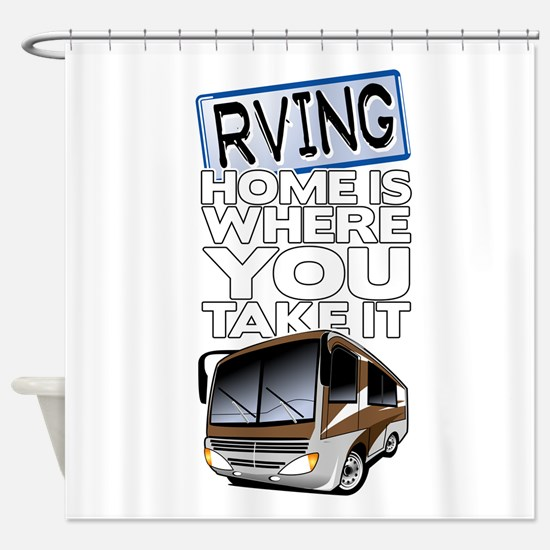 RVing 2 Shower Curtain