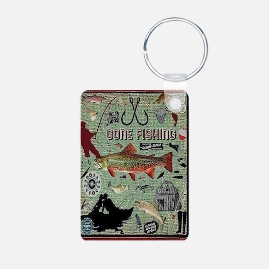 Gone Fishing Keychains Keychains