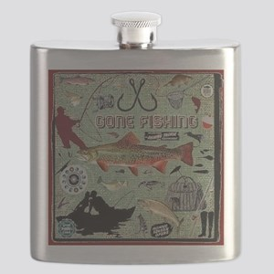Gone Fishing Flask