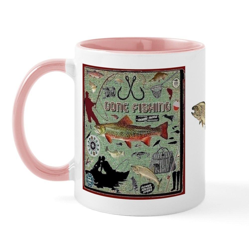 miniature 9 - CafePress Gone Fishing Mug Mugs 11 oz Ceramic Mug (1283922604)