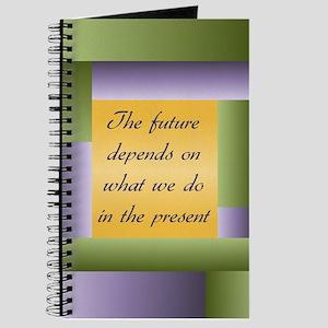 Ghandi quote Journal