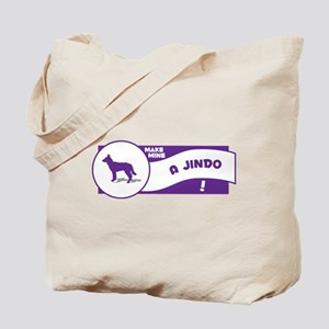 Make Mine Jindo Tote Bag