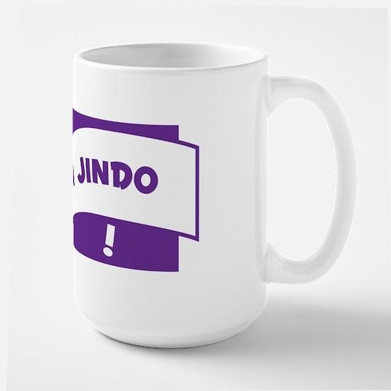 Make Mine Jindo Large Mug
