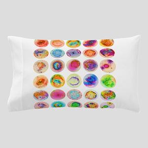 Psychedelic Supernova Circles Pillow Case