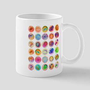 Psychedelic Supernova Circles Mug