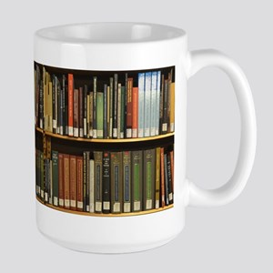 Library Bookshelf Mugs