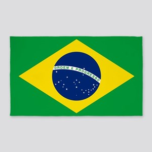 Flag Of Brazil 3'x5' Area Rug