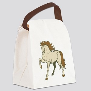 Elegant Horse Canvas Lunch Bag