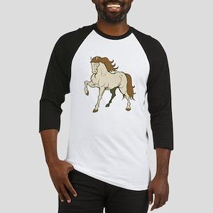 Elegant Horse Baseball Jersey