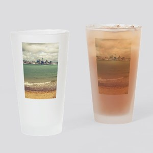 New Zealand Icons Auckland Drinking Glass