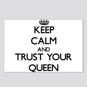 Keep Calm and Trust Your Queen Postcards (Package
