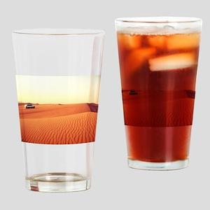 Dune Driving Drinking Glass