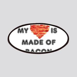 My heart is made of bacon Patches