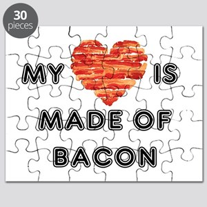 My heart is made of bacon Puzzle