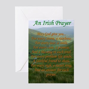 Irish Prayer Greeting Cards