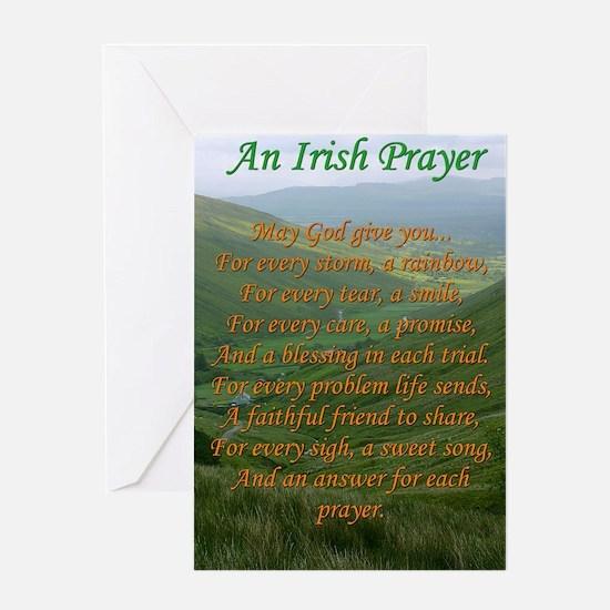 Irish Prayer Greeting Cards