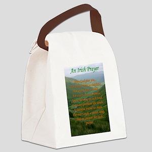 Irish Prayer Canvas Lunch Bag
