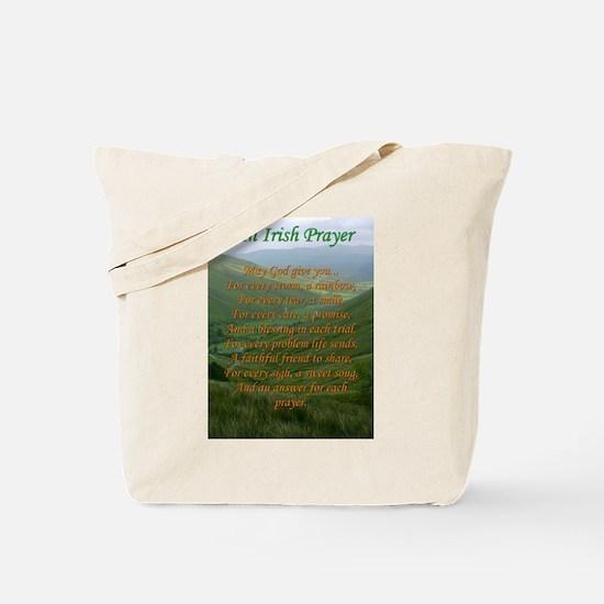 Irish Prayer Tote Bag