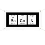 Periodic Bacon Banner