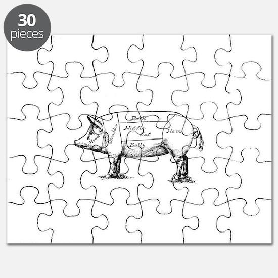 Pig Diagram Puzzle