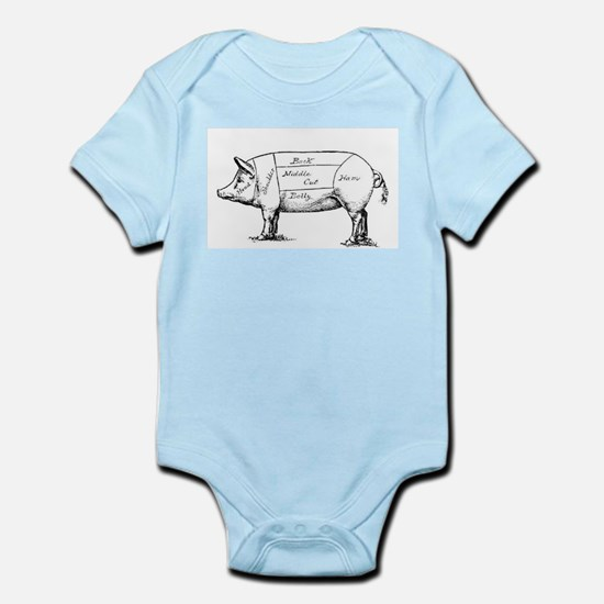 Pig Diagram Body Suit