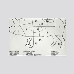 Pig Parts Magnets