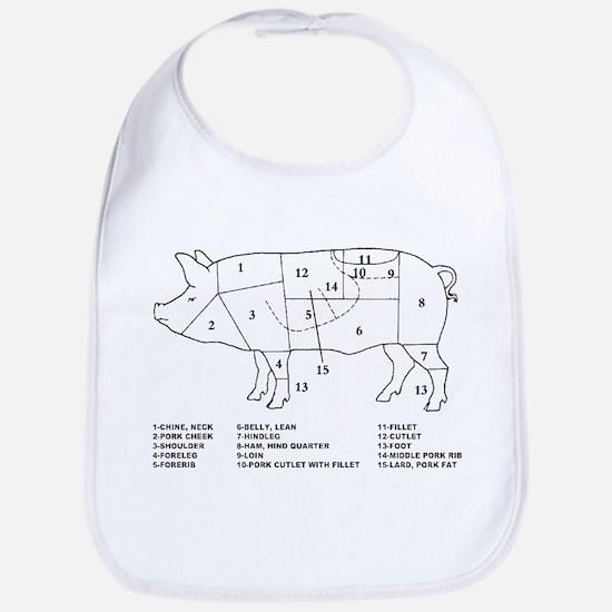 Pig Parts Bib