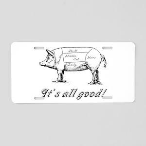Itsallgood Aluminum License Plate