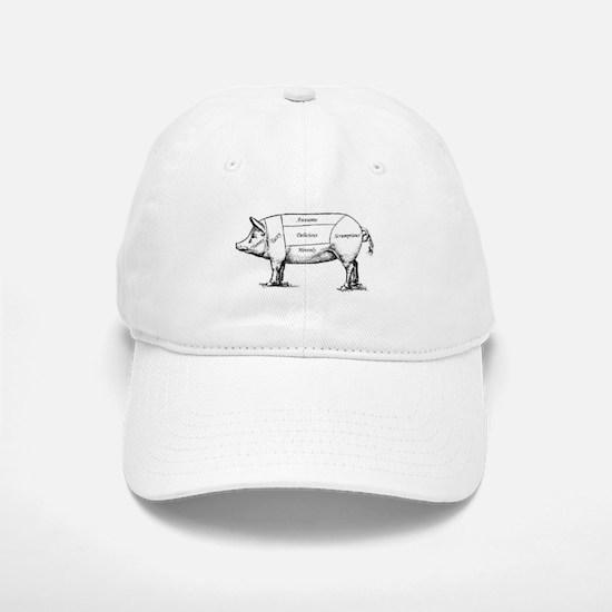 Tasty Pig Baseball Baseball Baseball Cap