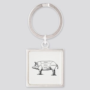 Tasty Pig Keychains
