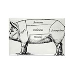 Tasty Pig Magnets