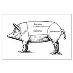 Tasty Pig Posters
