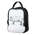 Tasty Pig Neoprene Lunch Bag