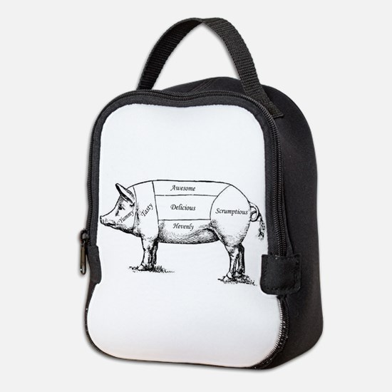 Tasty Pig Neoprene Lunch Bag