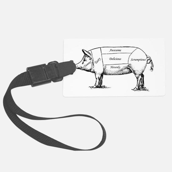 Tasty Pig Luggage Tag