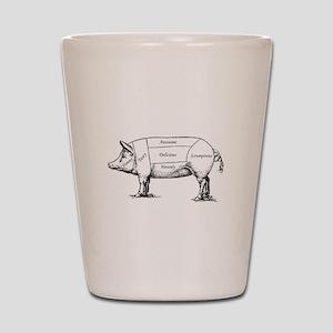 Tasty Pig Shot Glass