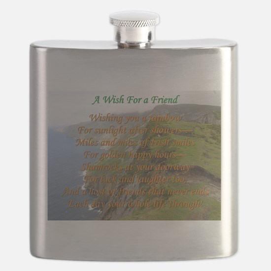 Wish For A Friend Flask